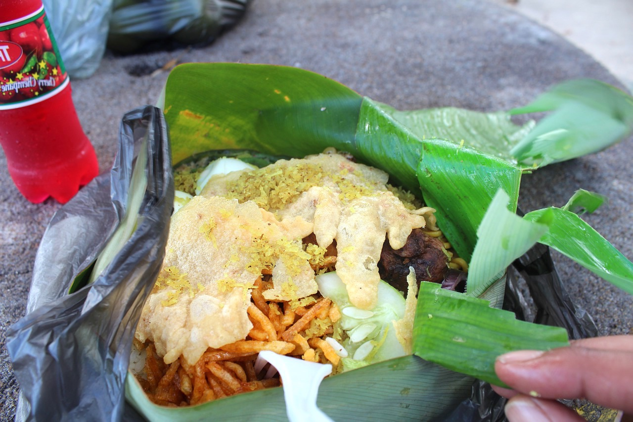 Bananenblätter – Die Bioverpackung in Grün