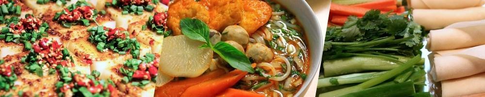 Vegetarische Speisen in der vietnamesischen Küche